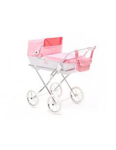 Coche para muñecas Prestigio Jr. rosa de Arrue