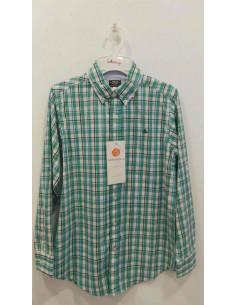 Camisa para niño cuadros de Girandola