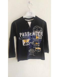 Camiseta larga de niño marino invierno de Girandola