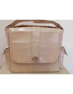 Bolso de paseo plastificado Vichy de Mico's Colección