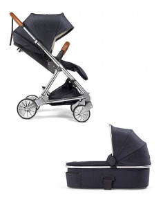 Coche duo Urbo 2 Mamas & Papas blue denim