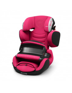 Silla de auto grupo 1-2-3 Kiddy Guardianfix 3 berry pink