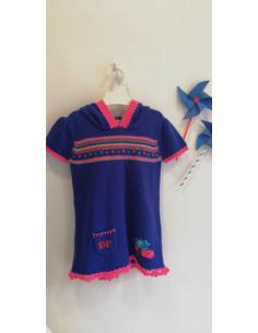 Vestido de lana para niña de El Baúl de Pinocho