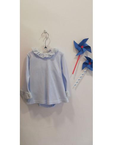 0c951b950 Conjunto ropa bebé hojas Babidu Primavera Verano