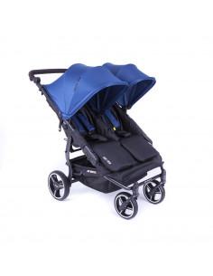 Silla gemelar Baby Monsters Easy Twin 3.0S Reversible Midnight