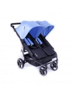 Silla gemelar Baby Monsters Easy Twin 3.0S Reversible Mediterranean