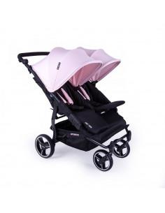Silla gemelar Baby Monsters Easy Twin 3.0S Reversible Rosa
