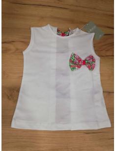 Camiseta para niña Flor Fucsia de La Ormiga