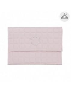 Funda toallitas Gofre Rosa de Cambrass
