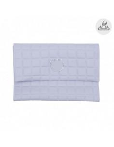 Funda toallitas Gofre Azul de Cambrass