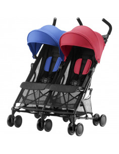 Silla gemelar Britax Holiday red blue