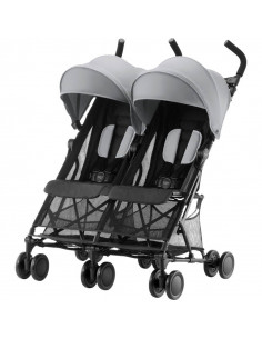 Silla gemelar Britax Holiday steel grey