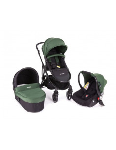 Coche trio Baby Monsters Globe Forest