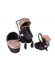 Coche trio Baby Monsters Globe taupe