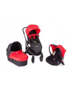 Coche trio Baby Monsters Globe rojo