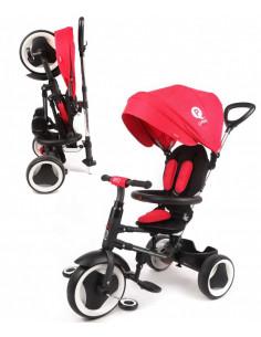 Triciclo Q Play Rito plegable rojo
