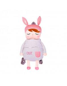 Mochila infantil personalizada Metoo Angela gris