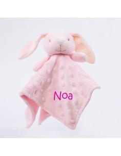 Dou Dou cabecitas conejo rosa +0m Personalizado