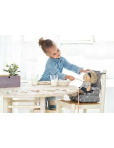 Trona de viaje para muñecas Mini Gaby de La Nina