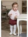 Conjunto de bebé para niño Petalo de Dolce Petit Invierno