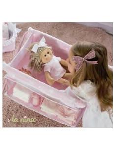 Cuna cambiador para muñecas Carlota de La nina