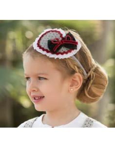 Diadema para niña Estrella de Dolce Petit Invierno
