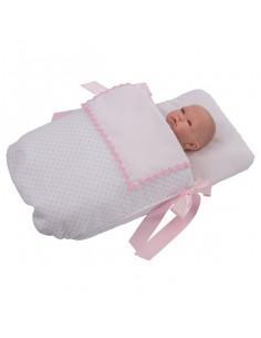 Saco con cubre para muñecas de Bebelux