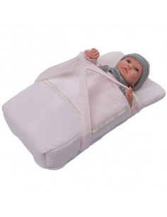 Saco mochila-capazo para muñecas de Bebelux