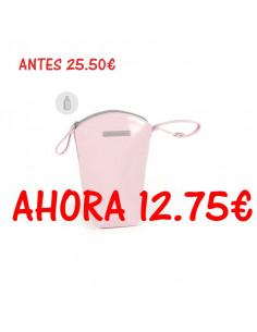 Funda biberón Tweed Baby rosa de Pasito a Pasito