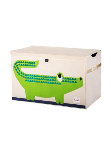 Arcón de juguetes cocodrilo de 3 Sprouts