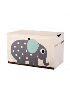 Arcón de juguetes elefante de 3 Sprouts