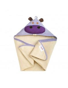 Capa de baño hipopótamo de 3 Sprouts