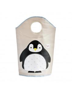 Cesta de ropa pingüino de 3 Sprouts