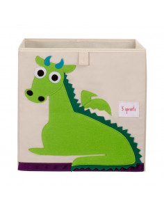 Cubo almacenaje dragón de 3 Sprouts