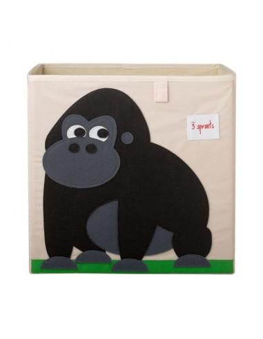 Cubo almacenaje gorila de 3 Sprouts