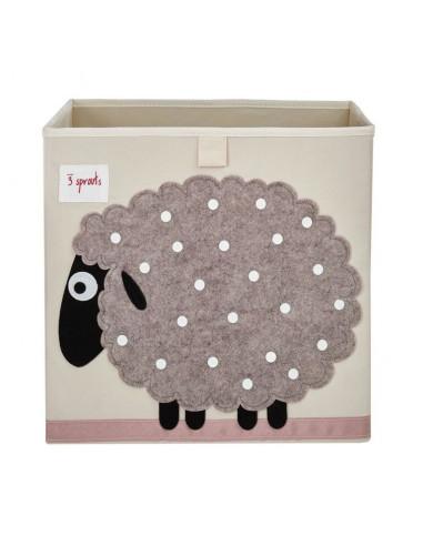 Cubo almacenaje oveja de 3 Sprouts