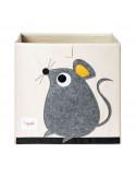 Cubo almacenaje ratón de 3 Sprouts