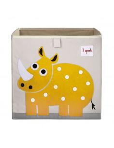 Cubo almacenaje rinoceronte de 3 Sprouts