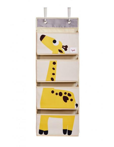 Organizador de pared jirafa de 3 Sprouts