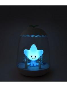 Lámpara infantil estrella de mar de Petit Akio