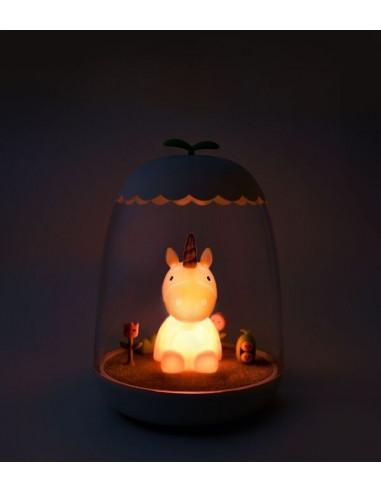 Lámpara infantil unicornio de Petit Akio