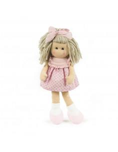 Marta vestido rosa de La Nina