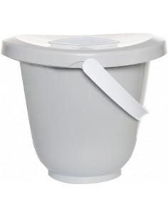 Cubo para pañales light grey de Luma Babycare