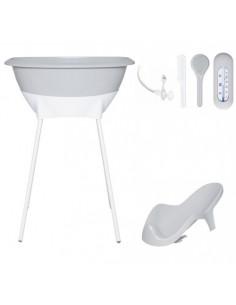 Set de baño Sparkling Silver de Luma Babycare
