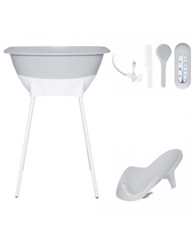 47e358132 Set de baño Sparkling Silver de Luma Babycare
