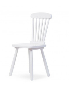 Silla infantil de madera Atlas blanco de Child Home