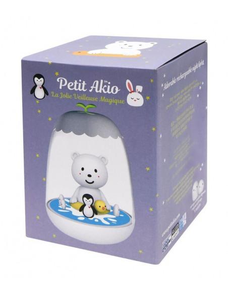 Lámpara infantil oso polar de Petit Akio