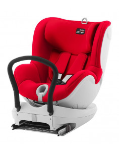 Silla de auto Römer dual fix fire red