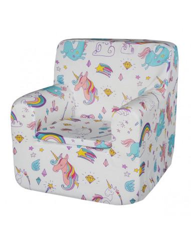 Sillón para niños unicornio de My Baby Mattress