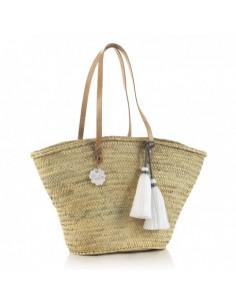 Bolso palma de playa Tassel de Cambrass